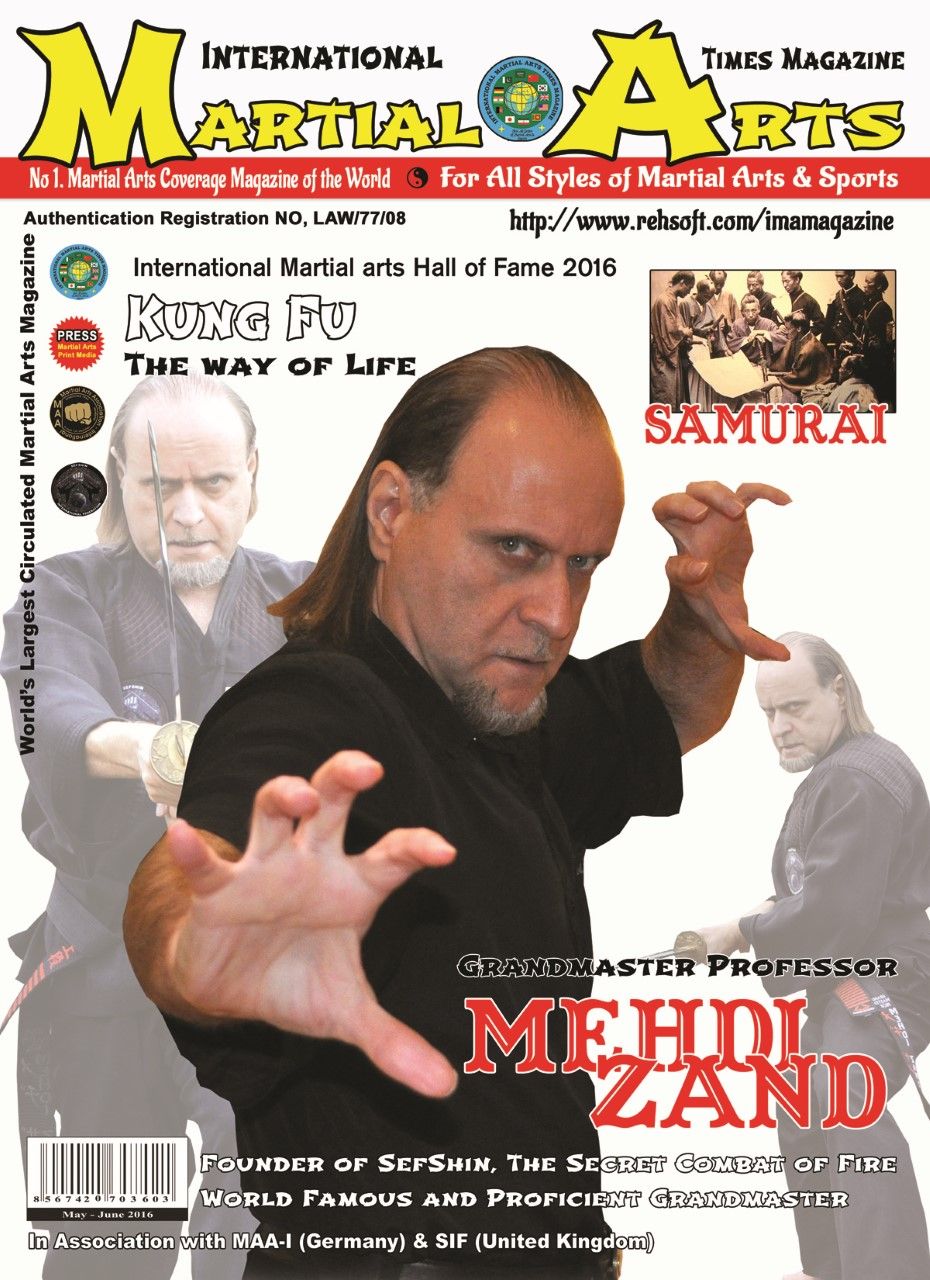 Grandmaster Mehdi Zand on the cover of the most prestige publication of 2016